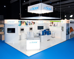 Teraka Design - Fabrication de stand d'exposition traditionnel-AB SCIEX
